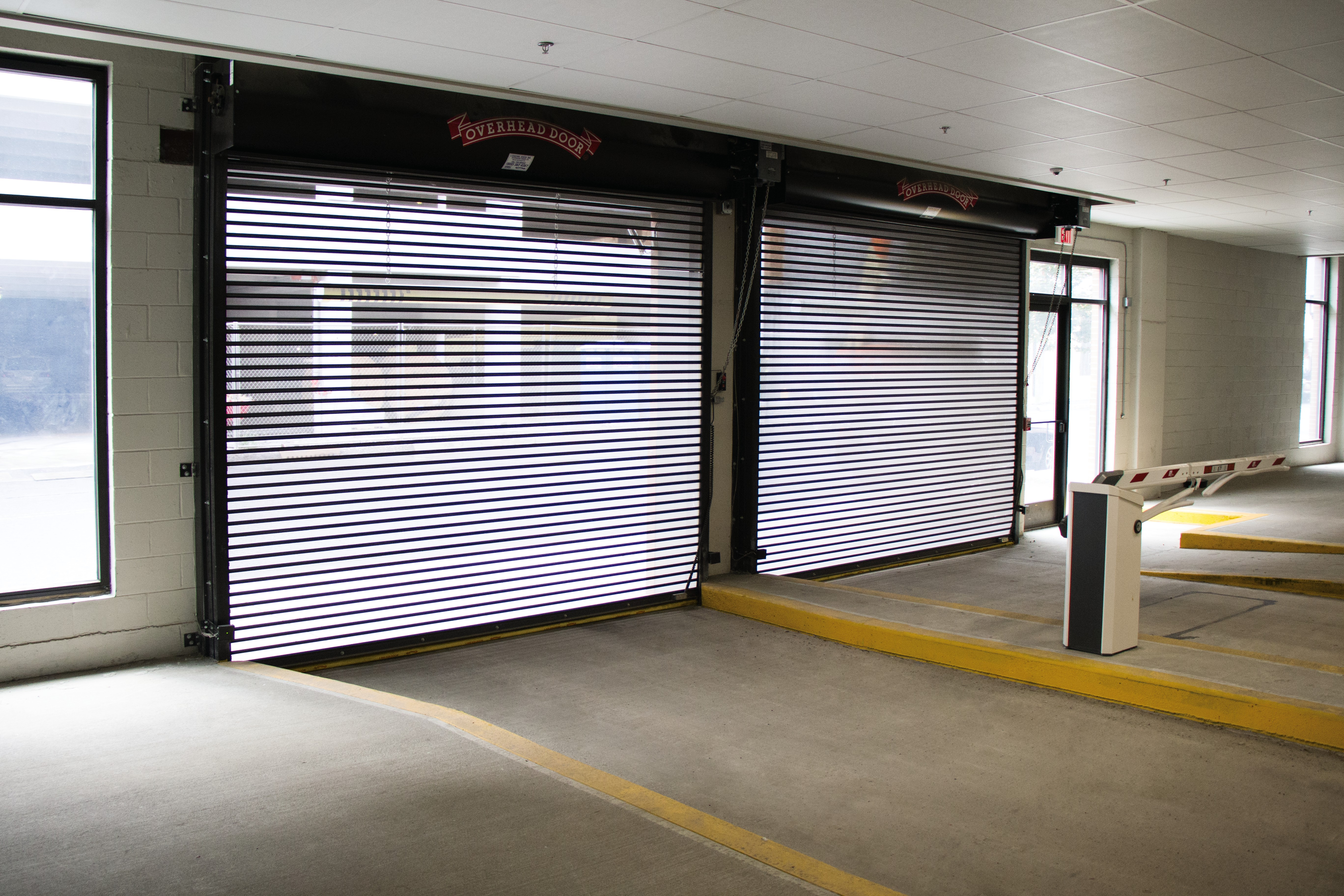 Perforated Rolling Garage Door